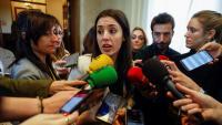 Irene Montero, portaveu d'Units Podem al Congrés, va donar Errejón com a baixa del partit, però Podem no n'ha anunciat oficialment l'expulsió ni la suspensió de militància