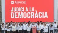 Acte presentació de la campanya 'Judici a la democràcia'
