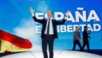 Pablo Casado va cloure la convenció del PP ahir al pavelló d'Ifema amb un discurs dur sobre Catalunya