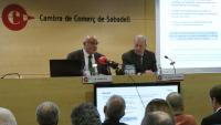 El president del Banc Sabadell, Josep Oliu, aquest dilluns