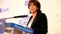 """Delgado diu que els jutges viuen la """"fractura social"""" a Catalunya"""