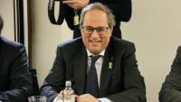 El president, Quim Torra, a Brussel·les aquest dilluns