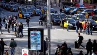 Els comerciants de Barcelona han mostrat el seu rebuig pel col·lapse a que les protestes de taxistes i conductors de VTC estan causant a la ciutat