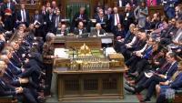 Theresa May intervé a la Cambra dels Comuns