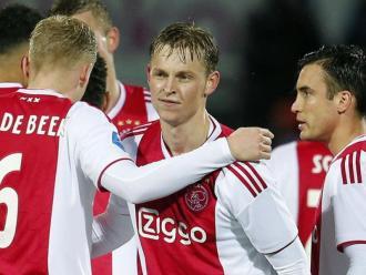 Frenkie de Jong tornarà a monopolitzar tots els focus en l'Ajax-Heerenveen de demà (16.15 h)