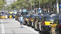 Taxis a la Gran Via