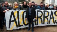 El batlle d'Alcarràs es nega a declarar davant del jutge
