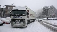 El gruix de neu supera els deu centímetres en diverses capitals de comarca