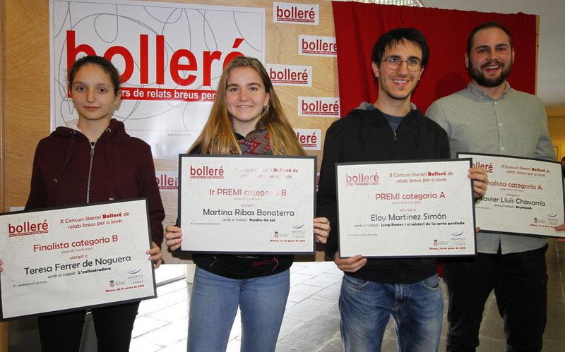 Imatge del lliurament dels premis.