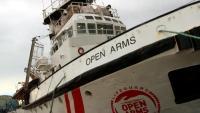 El vaixell 'Open Arms' estava retingut al port de Barcelona des del gener passat, impedit de dur a terme la tasca humanitària de rescat marítim