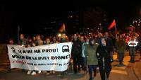 Manifestació dilluns passat a Manresa per reclamar millores a l'R4