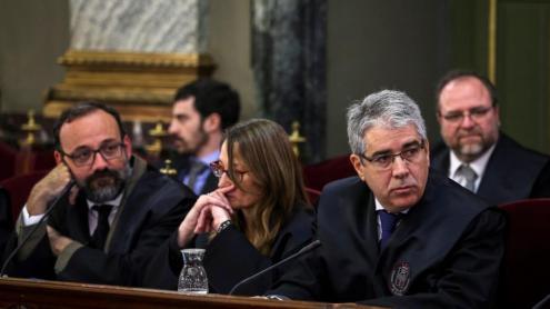 Advocats de la defensa, dimarts al Suprem.