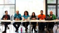 Representants de les entitats impulsores de la mesura a Barcelona van presentar plegats el 'Kit del 30%' per implantar-la en altres municipis catalans