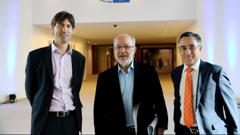 Els eurodiputats Jordi Solé, Josep Maria Terricabras i Ramon Tremosa són alguns dels que han presentat la iniciativa