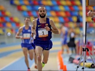 Artur Bossy ha corregut els 3.000 m en 7:55.42