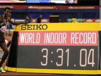 Tefera bat el rècord mundial dels 1.500 m