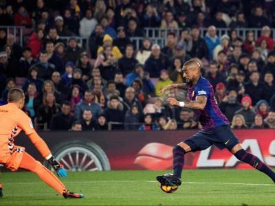 Boateng al Camp Nou