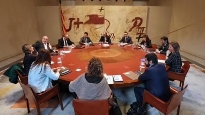 La reunió del consell executiu d'aquest dimarts