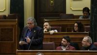 El portaveu d'ERC al Congrés dels Diputats, Joan Tardà, aquest dimecres