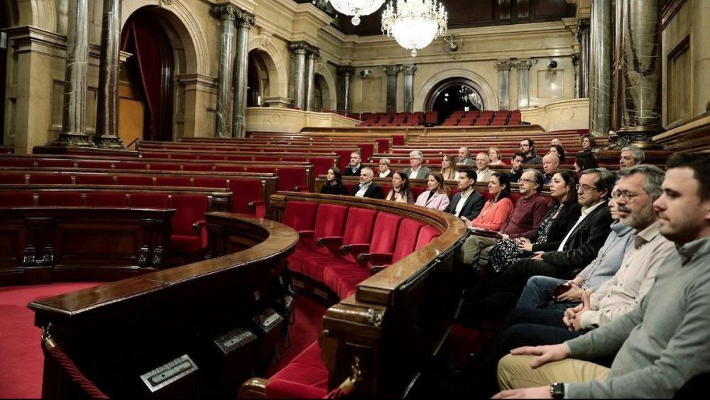 Els diputats de Ciutadans es van quedar sols ahir