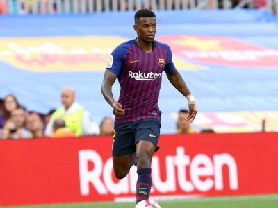 Nélson Semedo, en un partit del Barça d'aquesta temporada
