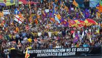 Imatge de la manifestació de diumenge passat a Madrid