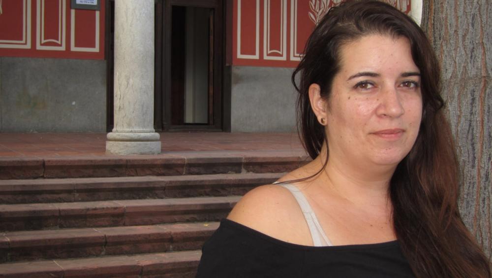 Tamara Carrasco, a Viladecans, d'on no pot sortir des de l'abril del 2018