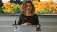 Meritxell Batet, ministra de política territorial i cap de llista del PSOE per Barcelona