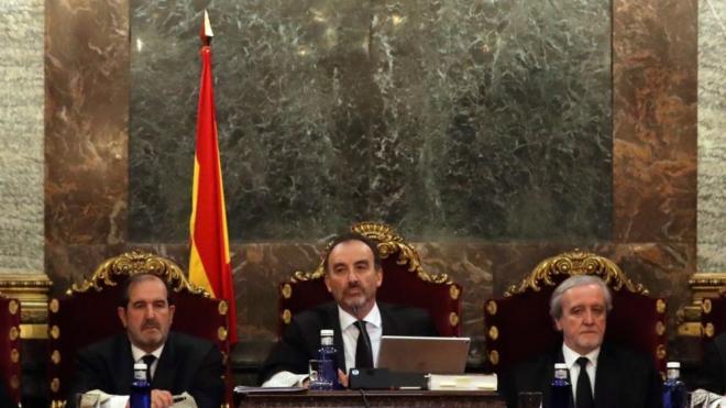 El president del tribunal del judici de l'1-O, Manuel Marchena