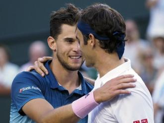 Federer felicita Thiem
