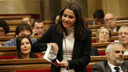 Inés Arrimadas, al Parlament
