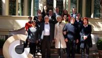 Els Premis Nacionals de Cultura 2019 juntament amb els membres del ConCa que els han elegit