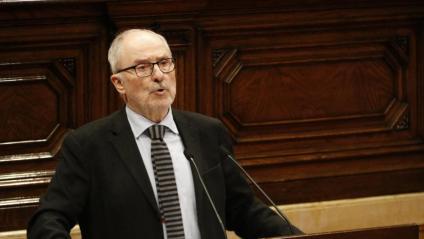 Rafael Ribó al Parlament de Catalunya