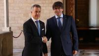 El PDeCAT i el PNB trenquen la coalició electoral per la candidatura de Puigdemont