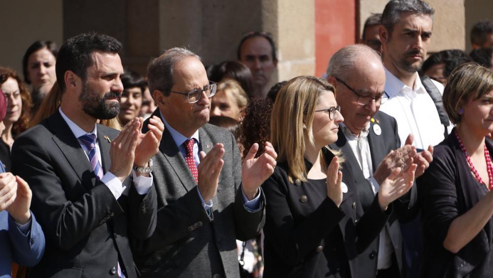 Suport a Forcadell i als presos polítics