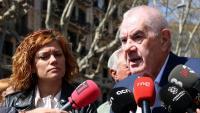 Alamany i Maragall van escenificar ahir el seu acord electoral per a Barcelona