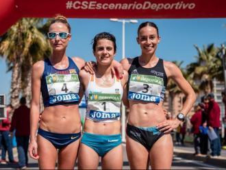 Raquel González , María Pérez i Laura García-Caro seran tres de les quatre representants del poderós equip espanyol en els 20 km