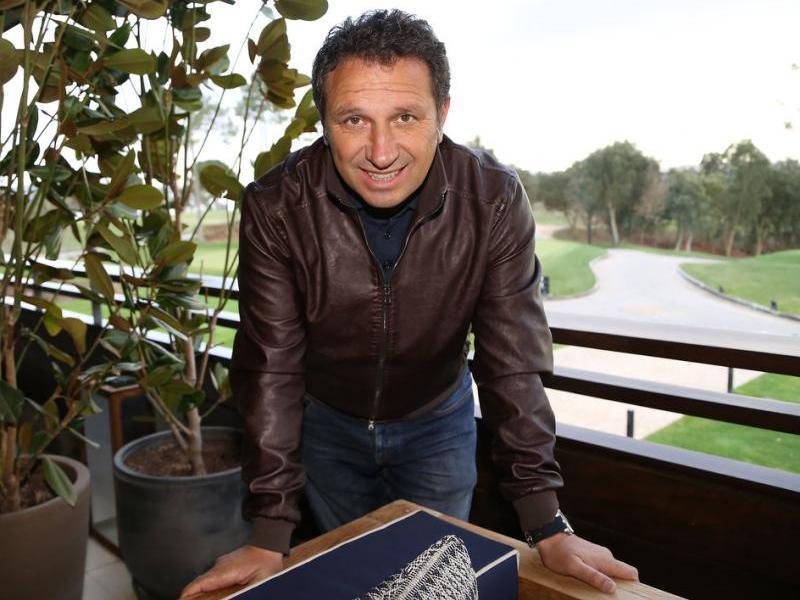 L'entrenador del Girona, al PGA de Caldes de Malavella