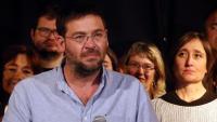 El cap de llista del Front Republicà per Barcelona, Albano Dante Fachín, a les eleccions espanyoles