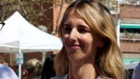 La candidata del PP de Catalunya per Barcelona al 28-A, Cayetana Álvarez de Toledo