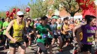 Sortida de la modalitat general de la cursa 'Corre en gran', organitzada pels presos de Brians 2