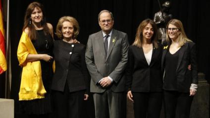 El president Torra amb les conselleres