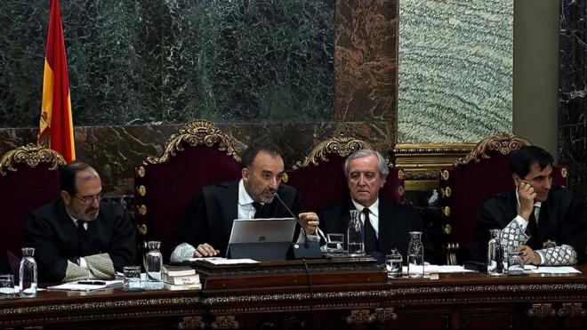 El president del tribunal, Manuel Marchena, en una imatge del 25 de març