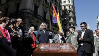 Imatge de l'acte celebrat a Barcelona