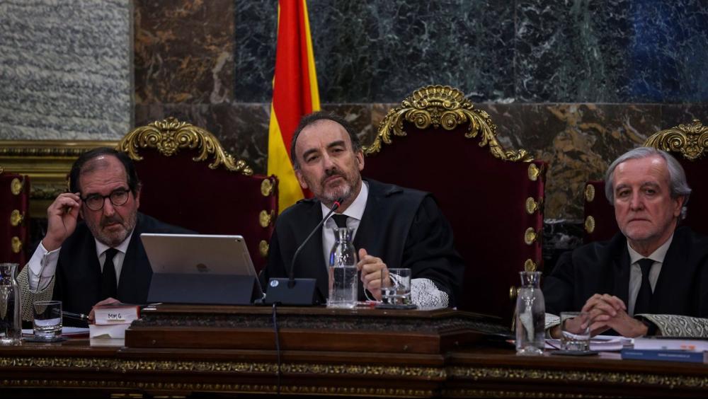 El president del tribunal, Manuel Marchena