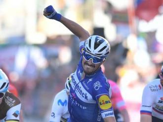 Alaphilippe creua la meta de la Milà-Sanremo