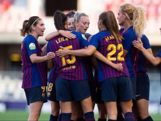 Les jugadores del Barça en una imatge d'arxiu