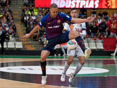 Ferrão va fer dos dels tres gols dels blaugrana