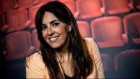 Isabel Vidal, als estudis d'El Punt Avui TV de Girona, fa uns dies