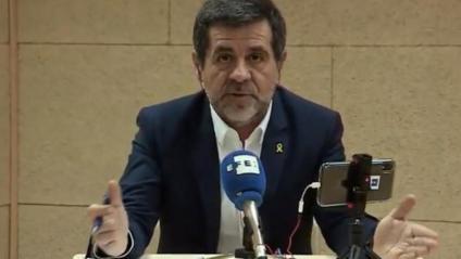 Jordi Sànchez, candidat de JxCat al Congrés, des de Soto del Real